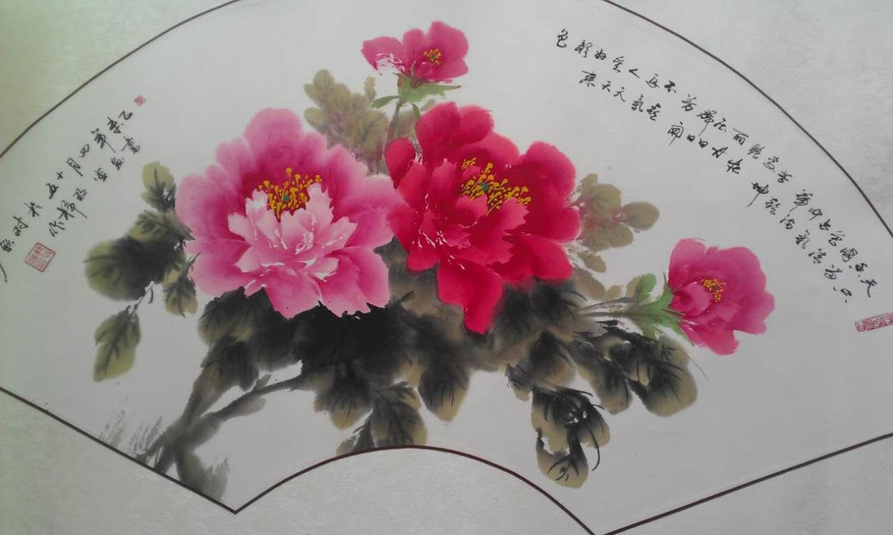 名家 郭改婵 写意 - 写意牡丹